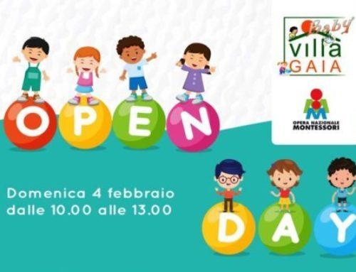 """OPEN DAY """"Villa Gaia Baby"""": Domenica 4 febbraio"""