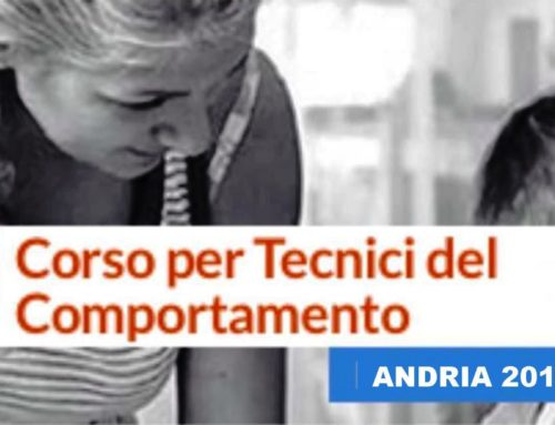 "Al via il Corso per ""Tecnici del Comportamento (RBT)"""