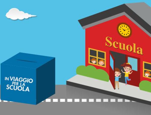 """Destina la tua raccolta punti """"In viaggio per la Scuola"""" al Nido Villa Gaia Baby"""