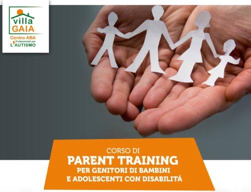 Al via CORSO di PARENT TRAINING per genitori di bambini e adolescenti con disabilità